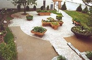 A picturesque accessible garden