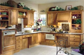 interior of a specially designed and constructed accessible kitchen