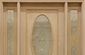 exterior door with single sidelite